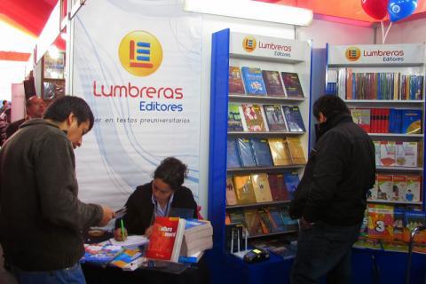 19ª FIL. Lumbreras Editores participa en el  Stand 72.