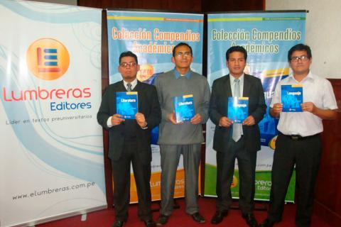 AUTORES. Jaime Huasco, Nery Paitán, Oscar Ravines y Juan Ríos